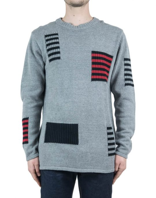 CHEAP MONDAY HUNTER KNIT 0235167 062 GREY MELANGE