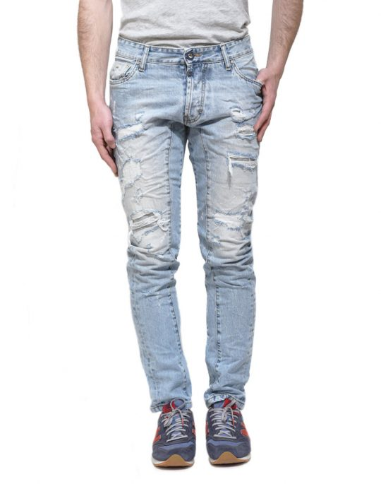COVER BIKER 6441 DENIM
