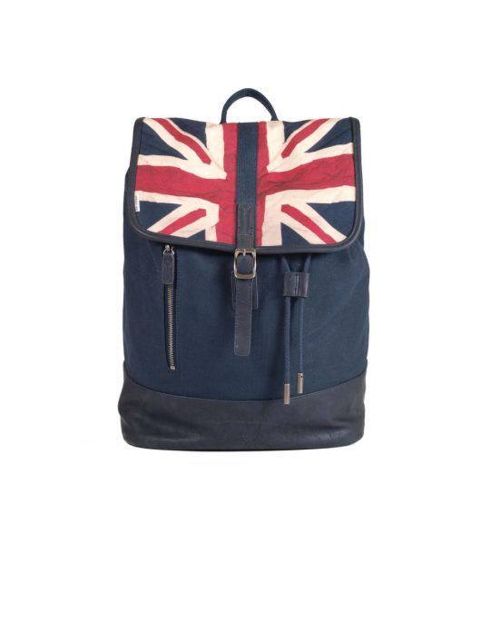 BEN SHERMAN UNION CANVAS RUCKSACK MH12480 NAVY