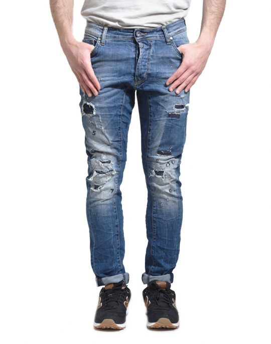 COVER BIKER 8241 DENIM