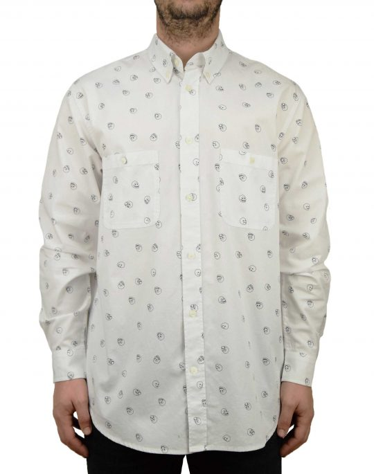 Cheap Monday Conduct Shirt White (0518592 100)
