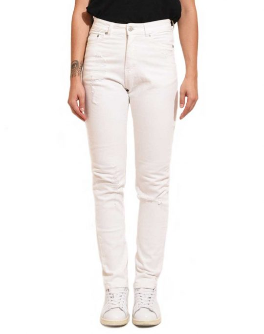 CHEAP MONDAY DONNA 0327192 001 WHITE REPAIR