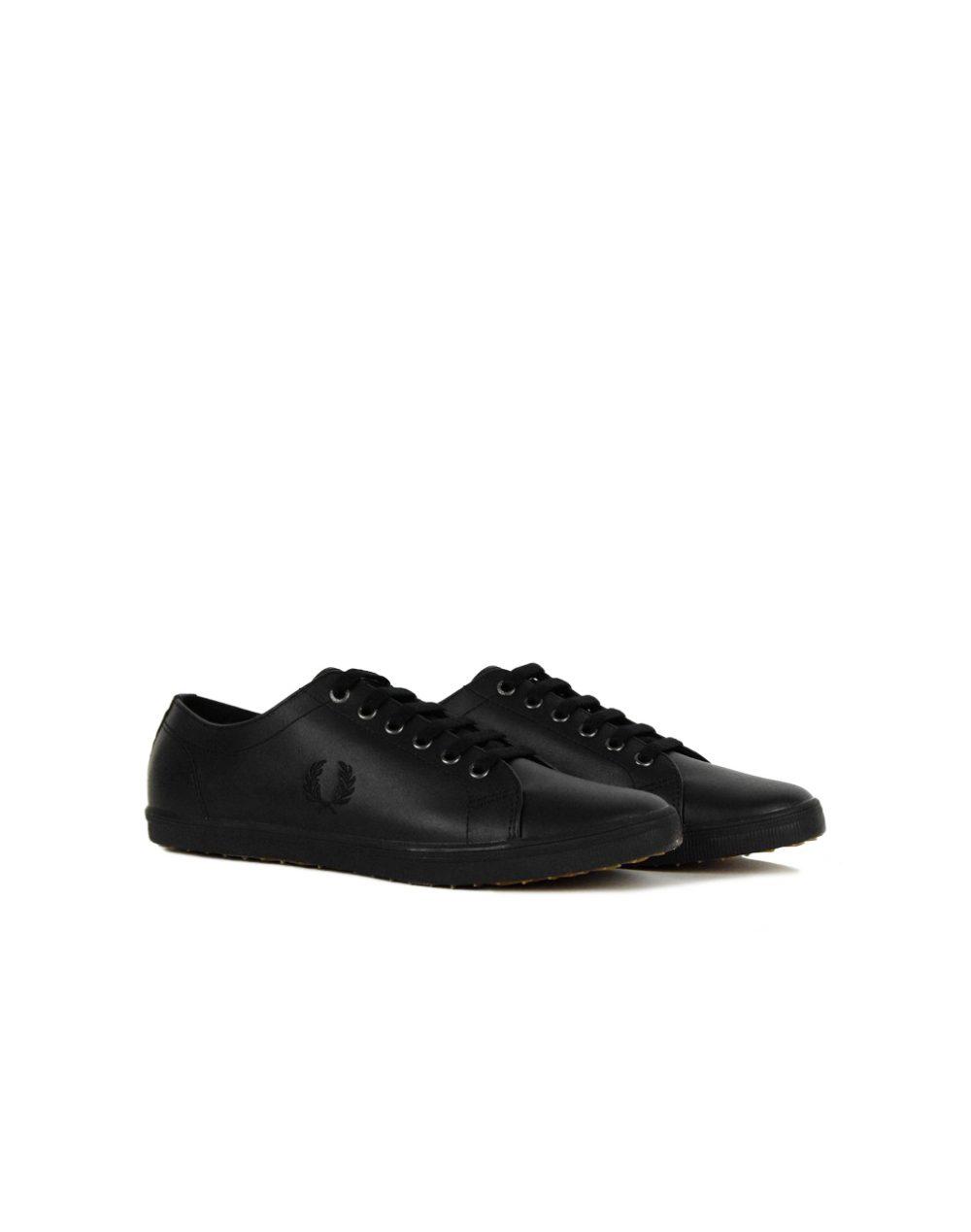 Fred Perry Kingston Leather Black (B6237U 102)