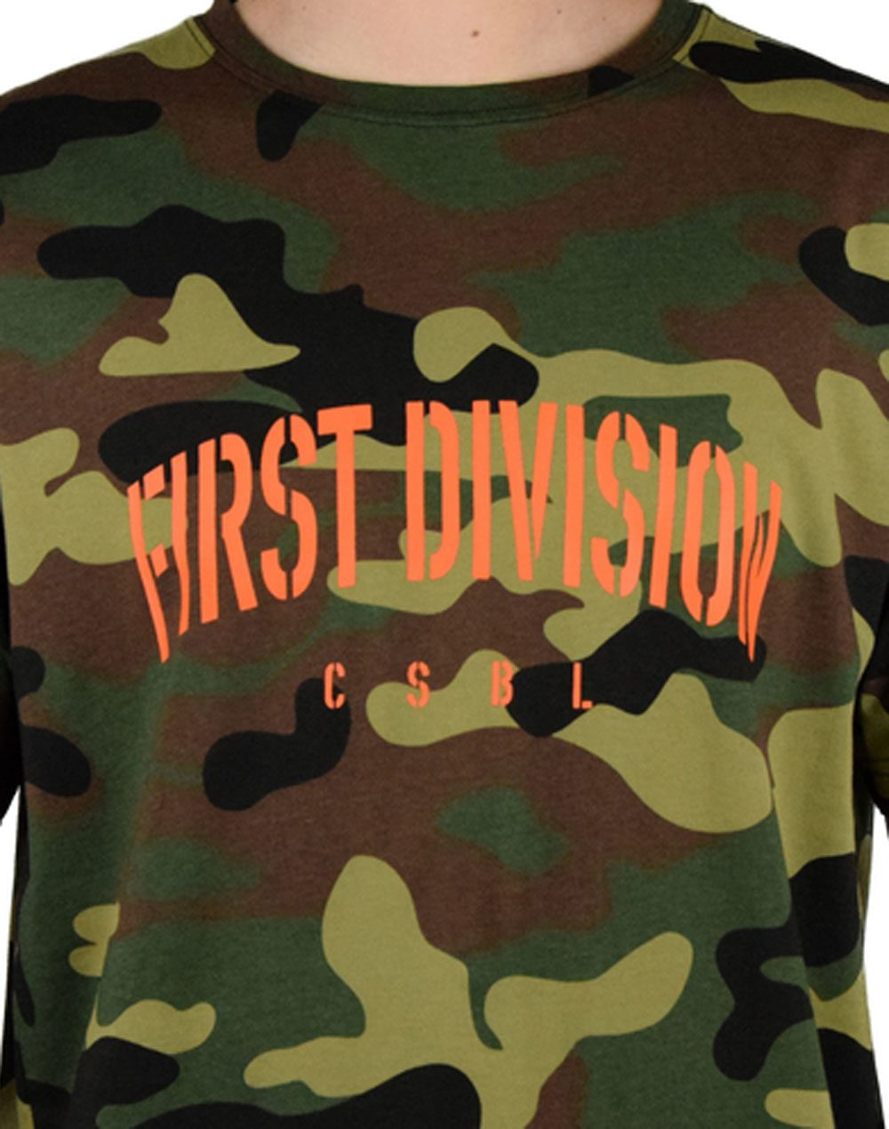 Cayler & Sons Patched Oversized Tee Camo (CSBL SS18-AP-28)