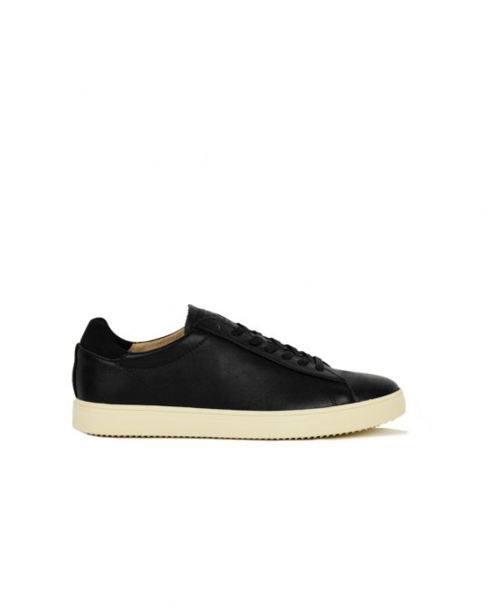 Clae Brandley Black Milled Tumbled Leather (CLA01297)