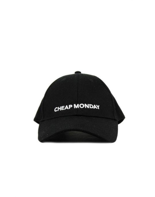 Cheap Monday Baseball Cap Black (0518078 200)