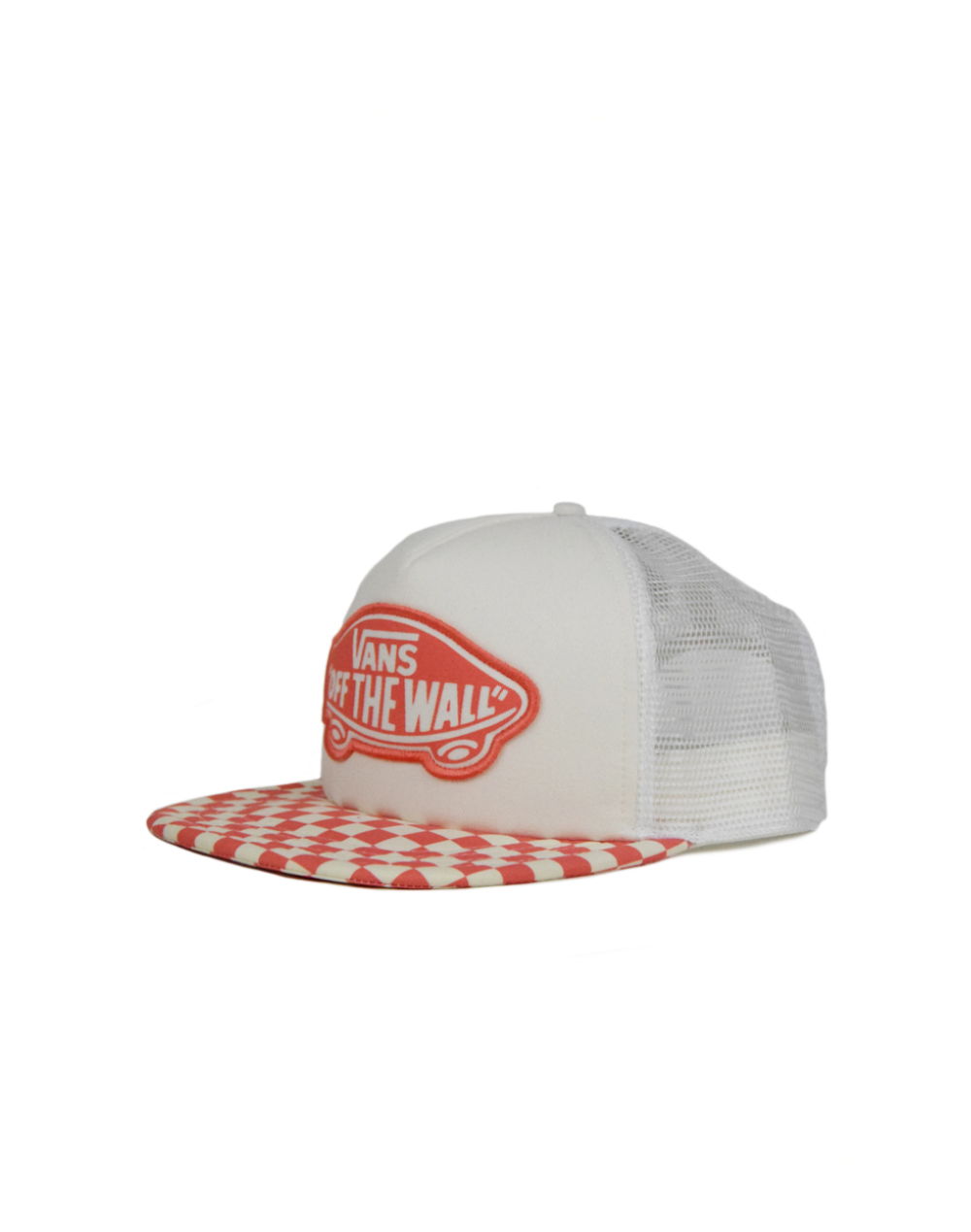 Vans Beach Girl Trucker Coral Checkerboard (VH5LP39)