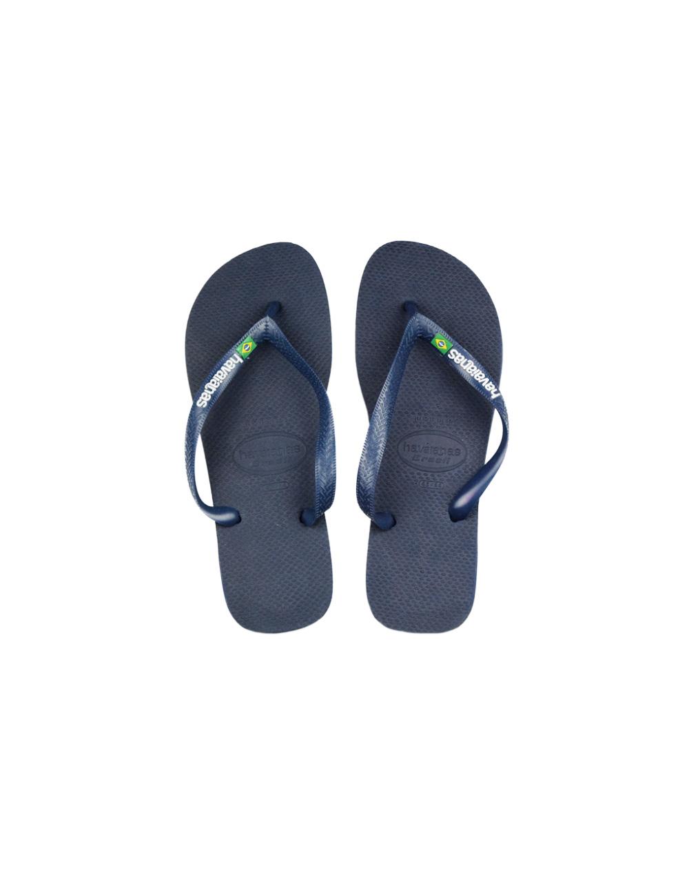 Havaianas Brazil Logo Blue (4110850 0555)