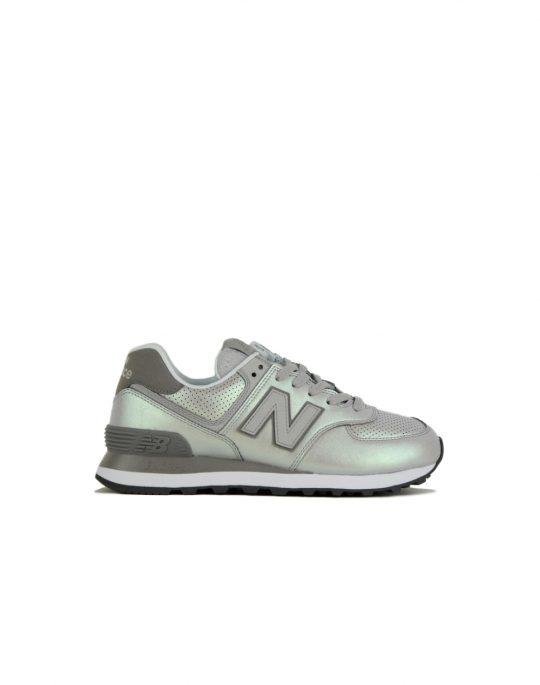 New Balance WL574KSC Silver