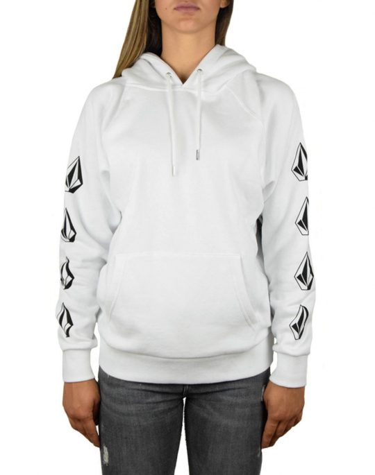 Volcom GMJ Hooded Fleece White (B3131811-WHT)
