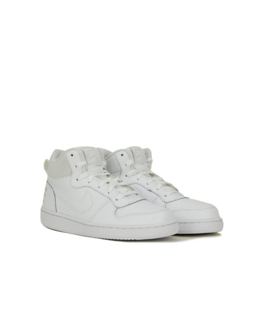 Nike Court Borough Mid (GS) White (839977 100)