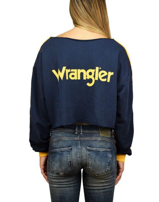 Wrangler B&Y Cut Off Sweat Amber Yellow (W6074ICUY)