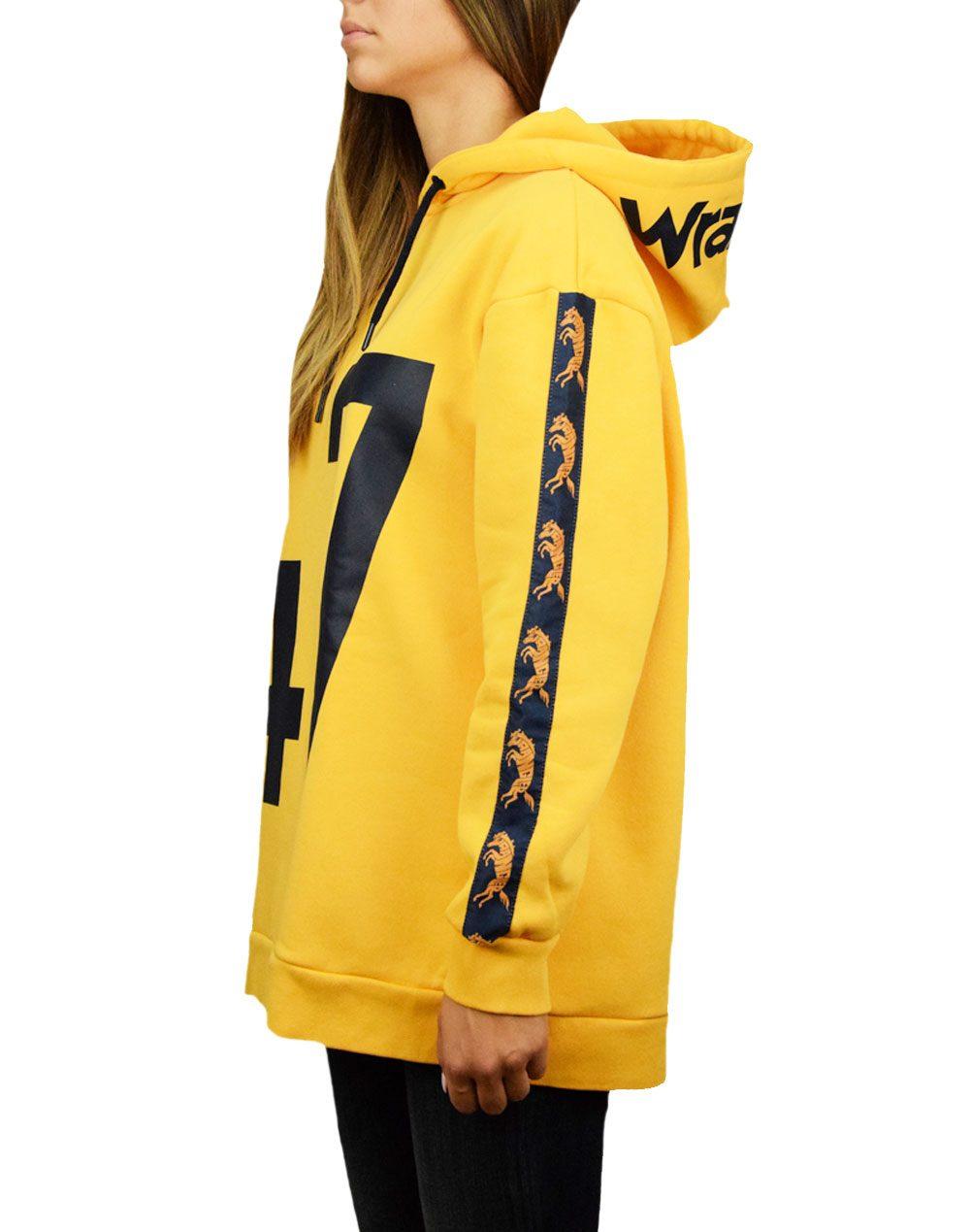 Wrangler B&Y Long Hoodie Amber Yellow (W6076ICUY)