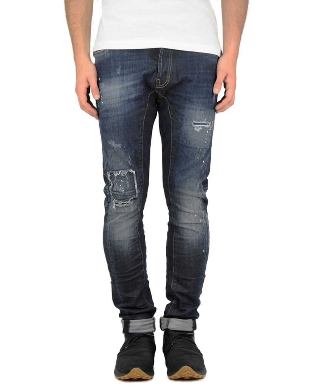Cover Biker Blue Denim (F43541)