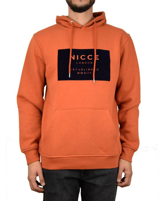 Nicce Mmxii Hoodie Burnt Orange (M03HD05-BO)