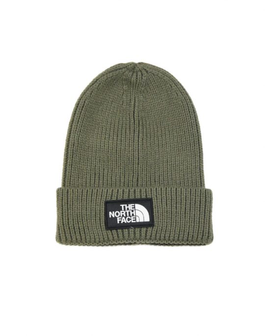 The North Face TNF Logo Box Cuff BNE Taupe Green (T93FJX21L)