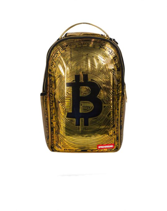 Sprayground Bitcoin Gold (B1943)