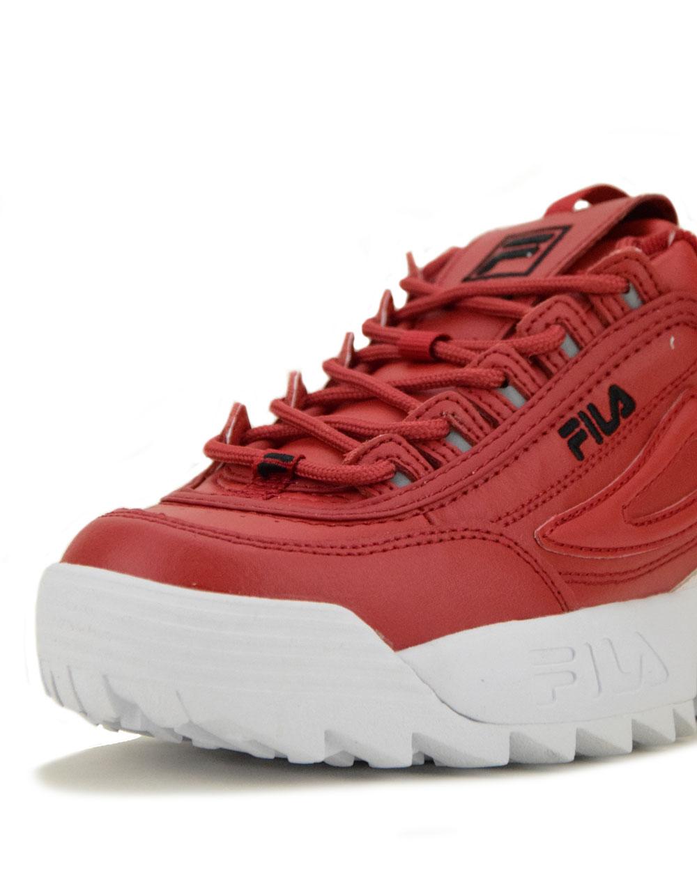 4bd094c6b01 Fila Disruptor II Premium Red (5FM00540-602) | Eleven