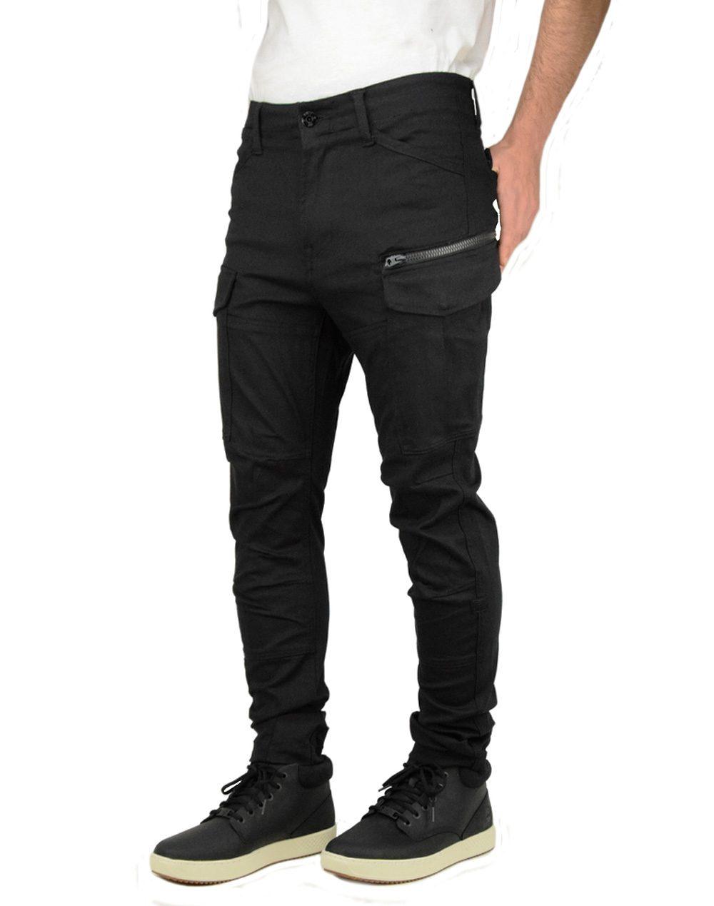 G-Star Raw Rovic Zip 3D Skinny Black (D11062-8970-001)