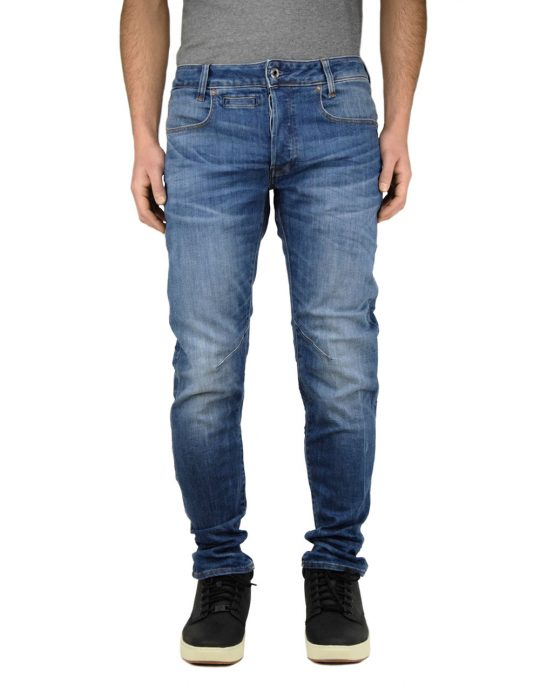 G-Star Raw D-Staq 5-Pocekt Slim (D06761-8968-6028) Medium Indigo Aged