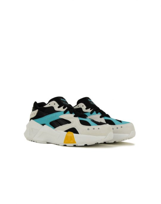 Reebok Aztrek Double 93 Black/Blue/Grey/Gold (DV5387)