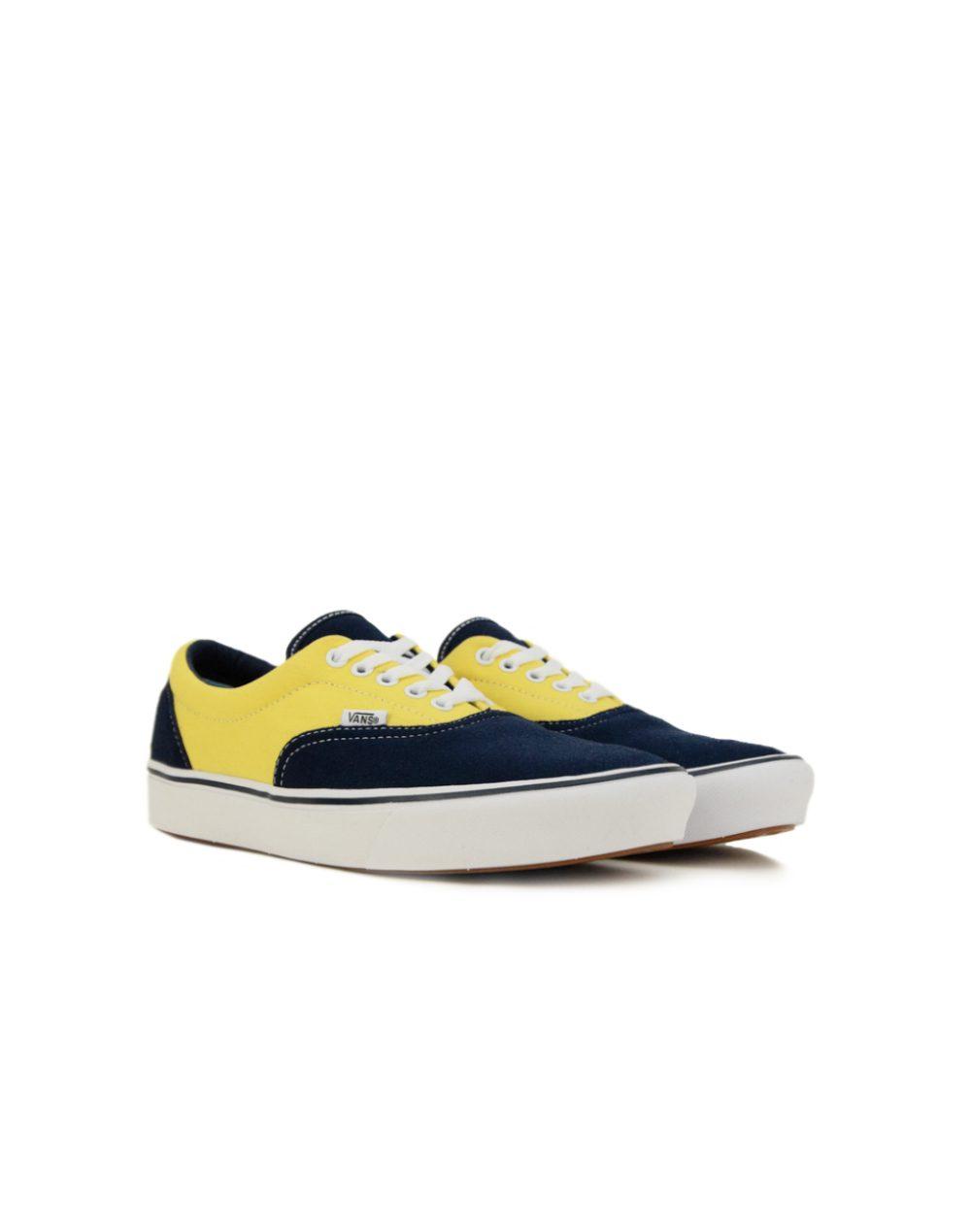 Vans Comfycush Era Suede/Canvas Dress Blue/Aspen Gold (VA3WM9VNO)