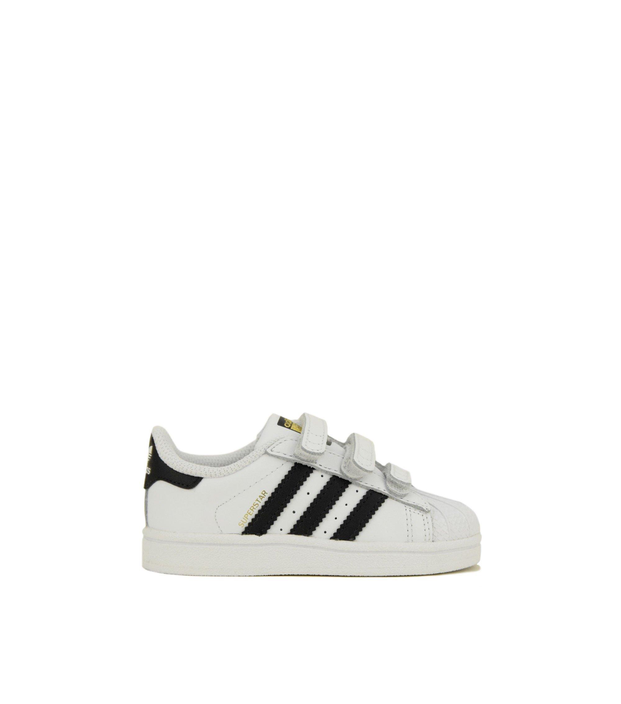 dc4abd64d84a7 Adidas Superstar CF I (BZ0418) Black White
