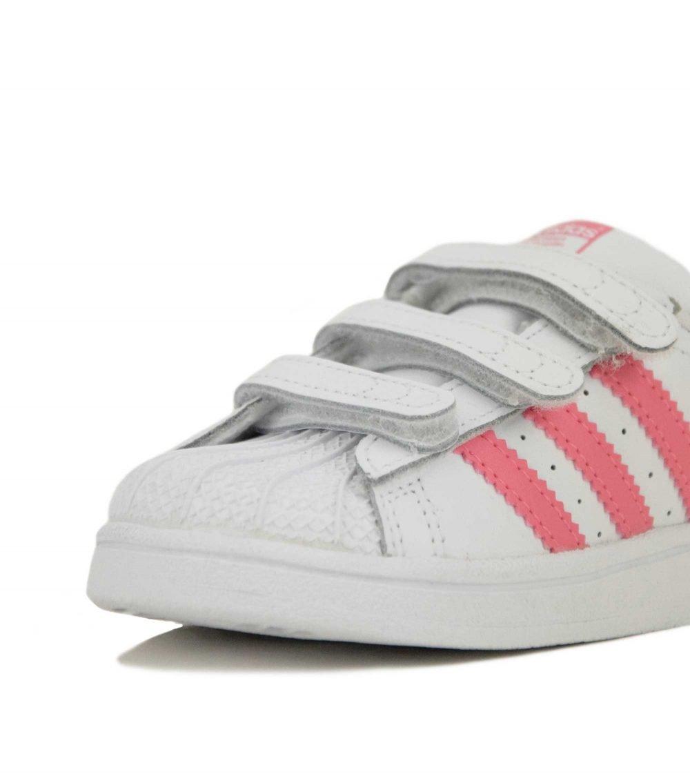 Adidas Superstar CF I (CG6638) White/Pink