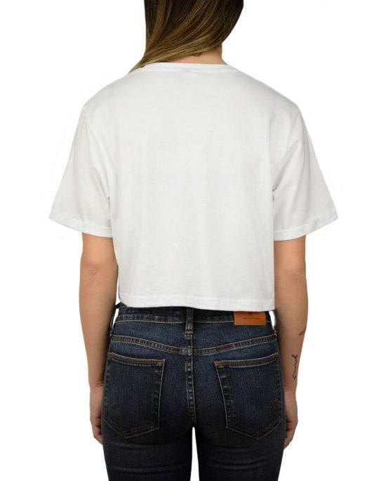 Ellesse Core Alberta Crop T-shirt White (SGS04484)