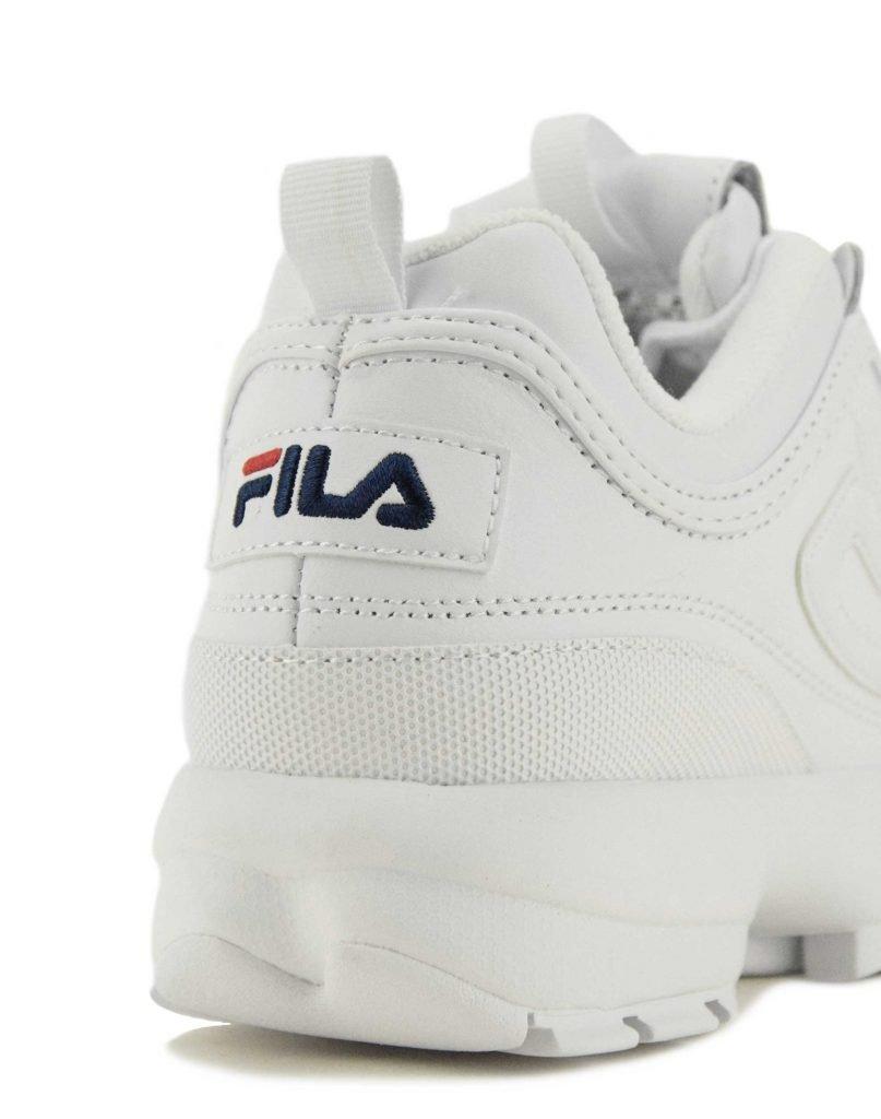 Fila Disruptor II Clear (5FM00696 125) White | Eleven