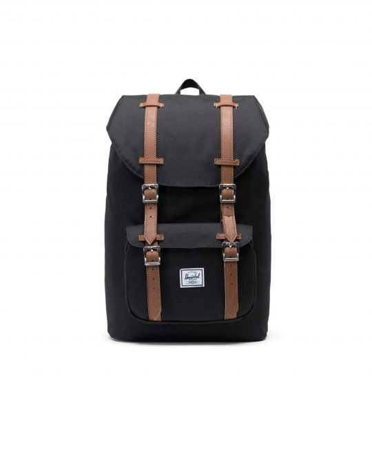 Herschel Supply Co Little America Mid Volume 17L (10020-00001) Black/Tan Syntetic Leather