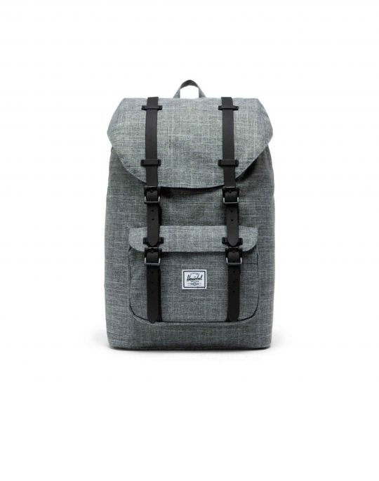 Herschel Supply Co Little America Mid Volume 17L (10020-00919) Raven Crosshatch