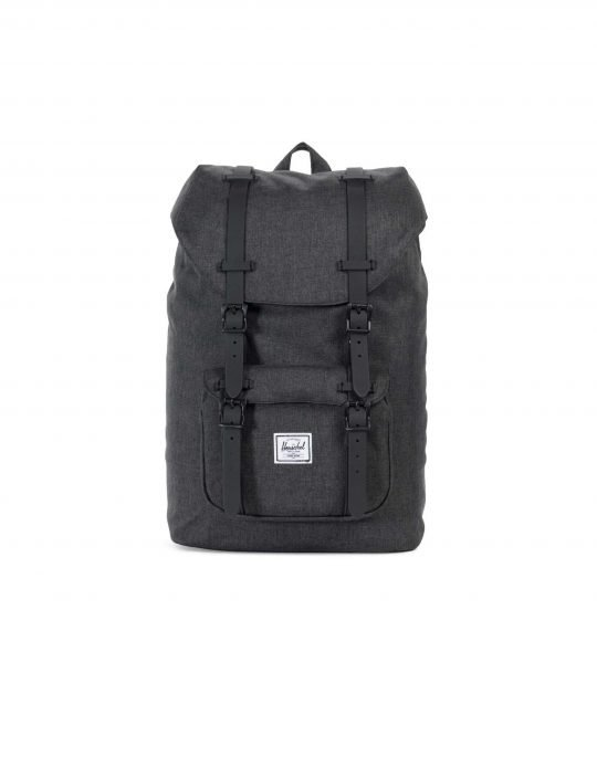 Herschel Supply Co Little America Mid Volume 17L (10020-02093) Black Crosshatch