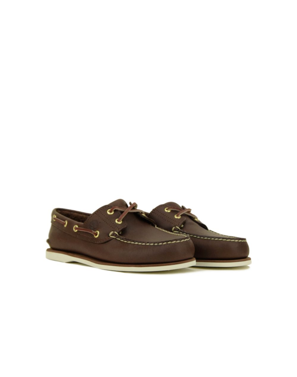 Timberland Classic 2 Eye Boat Shoe (TB074035 214) Brown