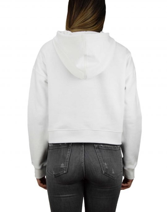 Adidas Cropped Hoodie White (DX2321)