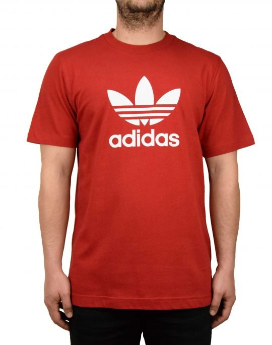 Adidas Trefoil Tee (DX3609) Red