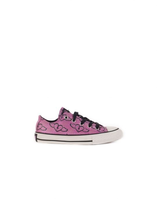 CONVERSE CT PRNT OX 622338 PURPLE