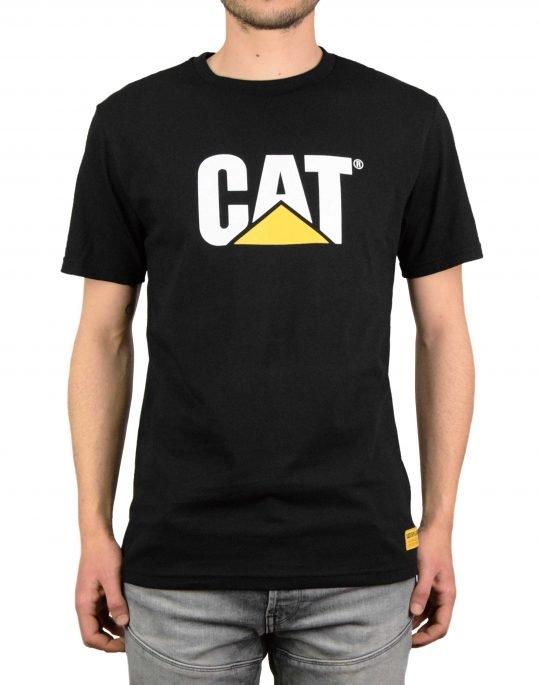 Caterpillar Classic Cat Tee (2511243) Pitch Black