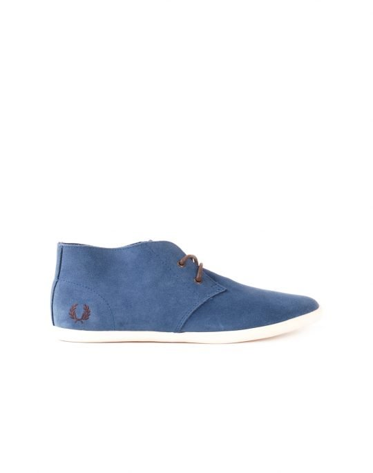 FRED PERRY ROOTS SUEDE B3206W 334 KIT BLUE