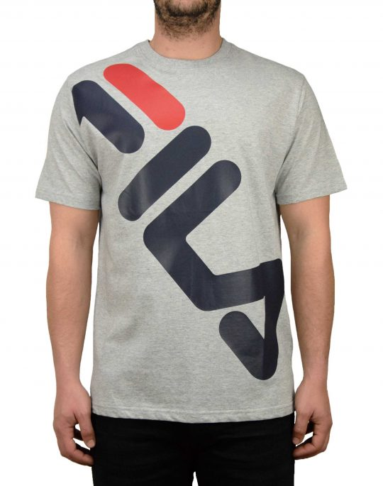 Fila Graphic Tee (LM181L53) Grey heather