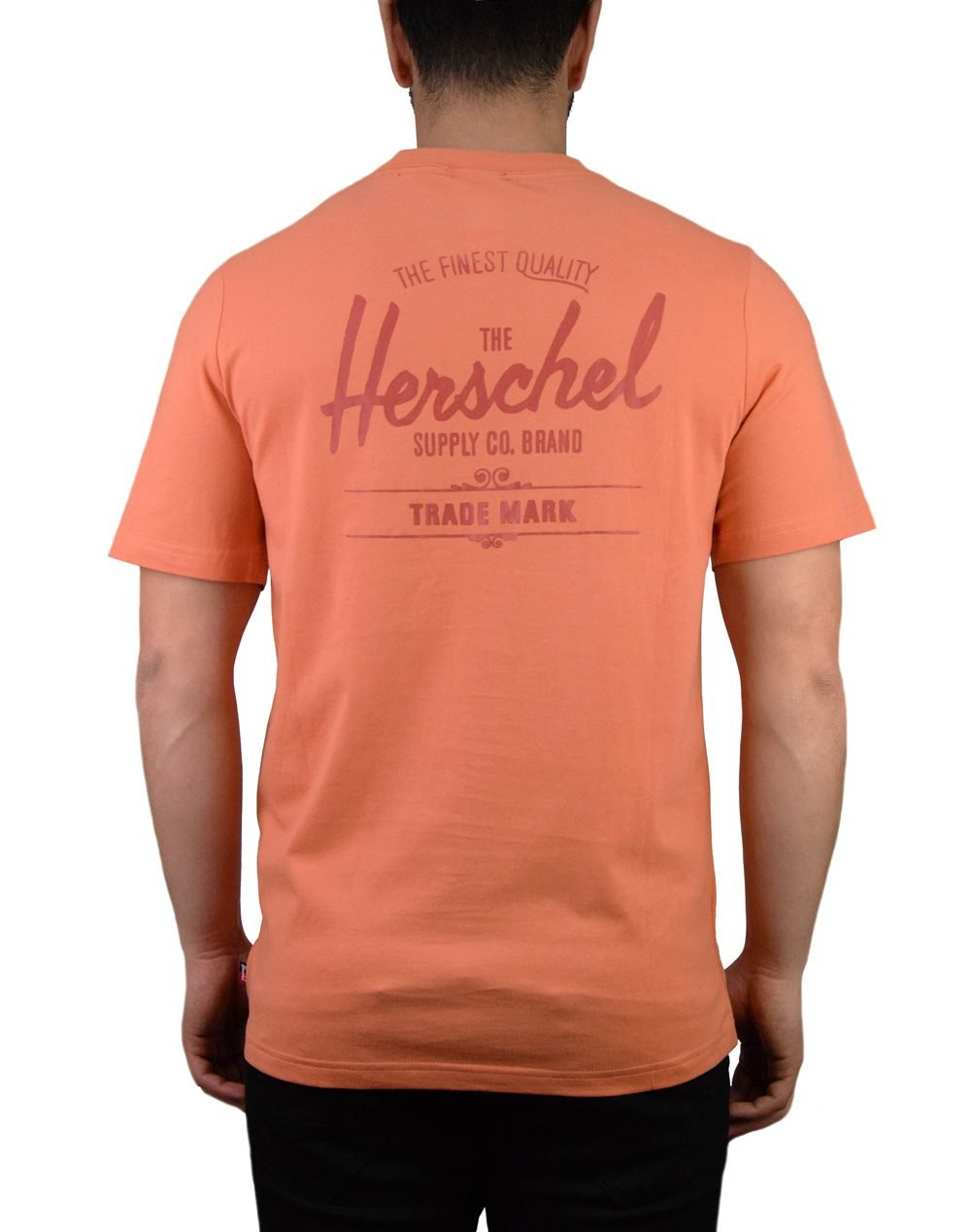 Herschel Supply Co Classic Logo Tee (50027-00253) Carnelian