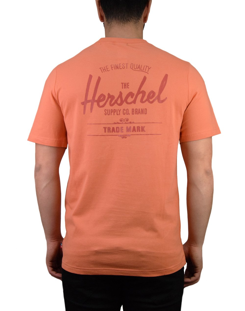 Herschel Supply Co Classic Logo Tee (50027-00253) Carnelian