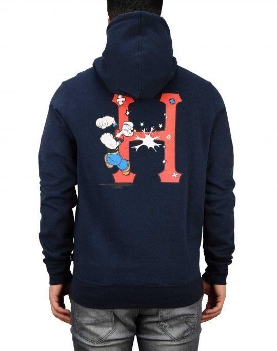Huf Popeye Classic Hoodie (PF00168) Navy