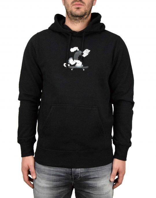 Huf Popeye Skates Hoodie (FL00092) Black