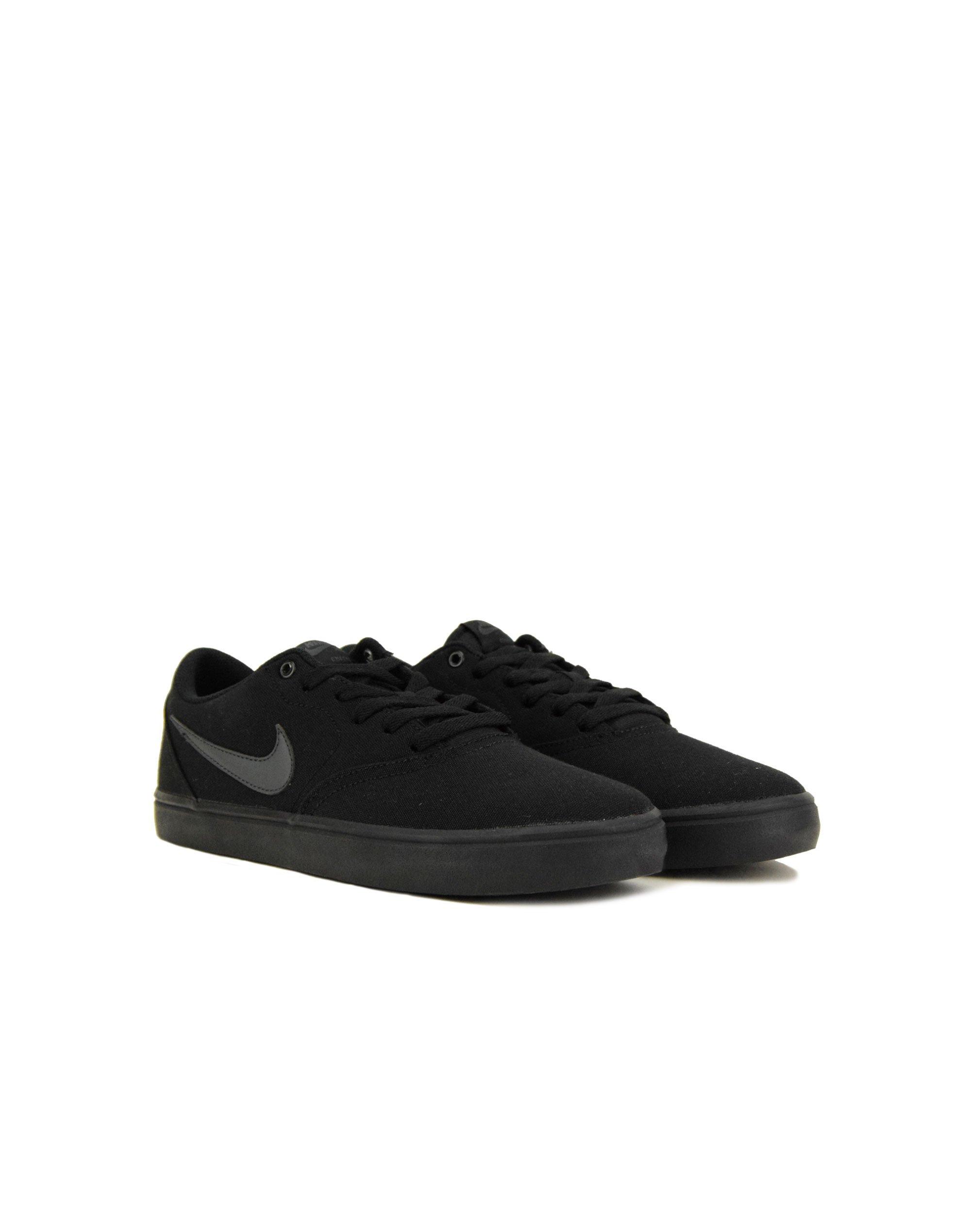 ded6825428 Nike SB Check Solar Canvas (843896 002) Black | Eleven