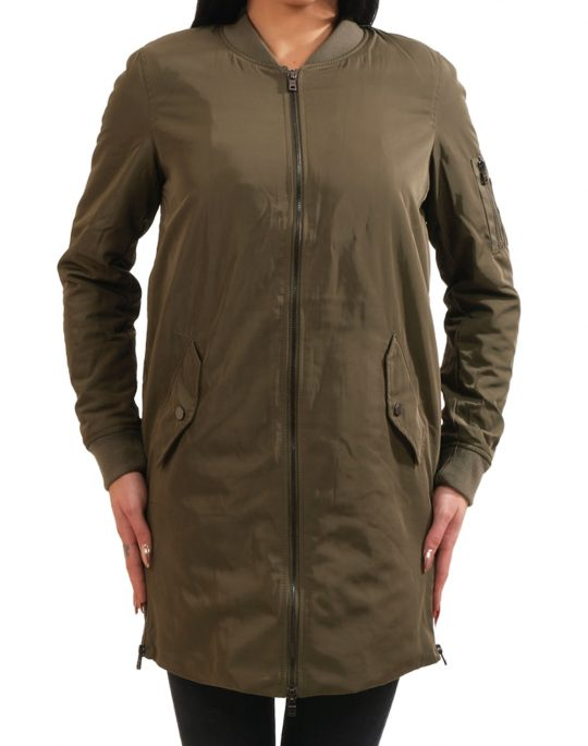 ONLY FULTON LONG BOMBER 15117246 TARMAC