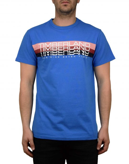 Timberland Retro Graphic Tee (TB0A1OCY F42) Strong Blue