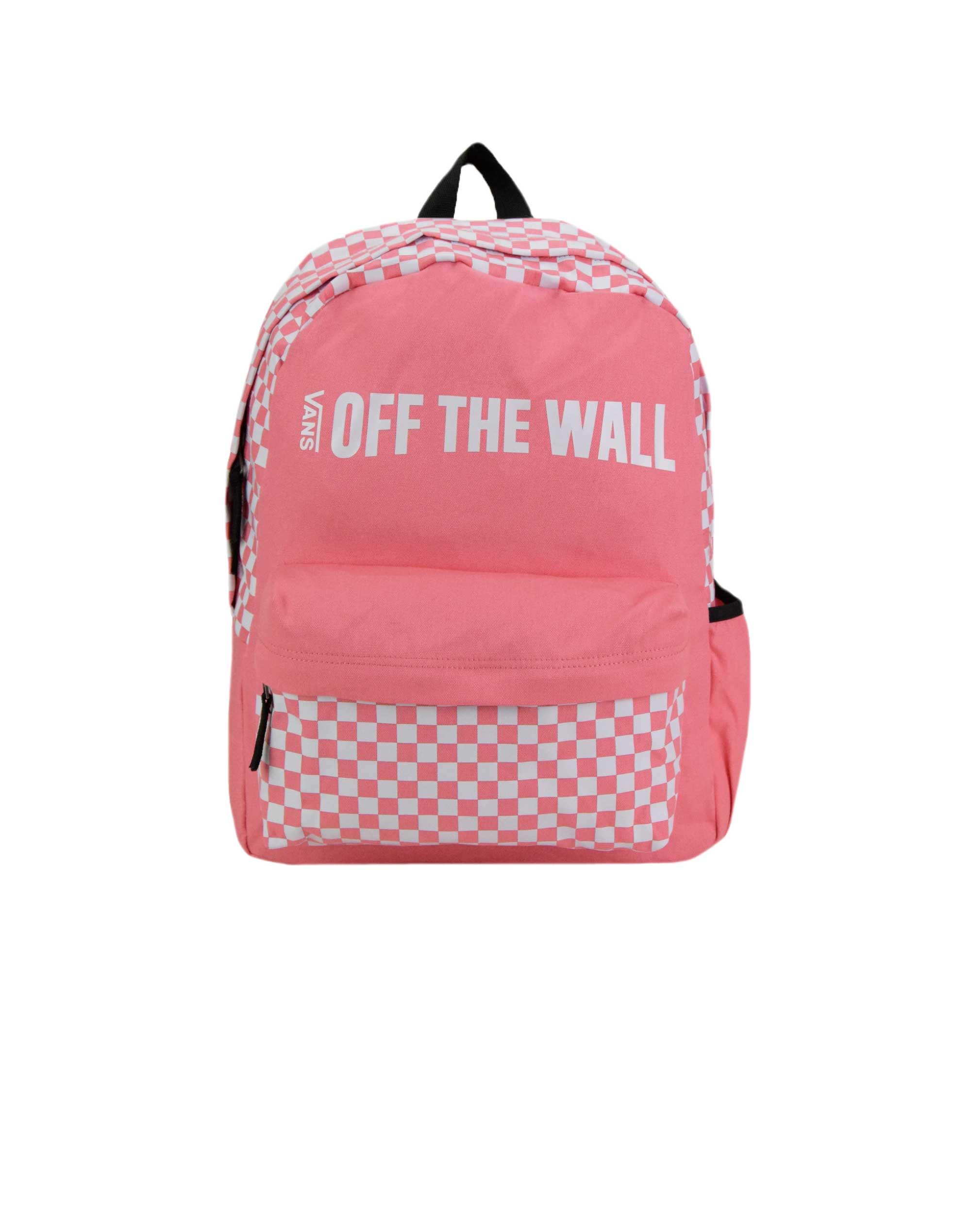 a16e58d31c5a7 Vans Central Realm Backpack (VA3UQSUV6) Strawberry Pink