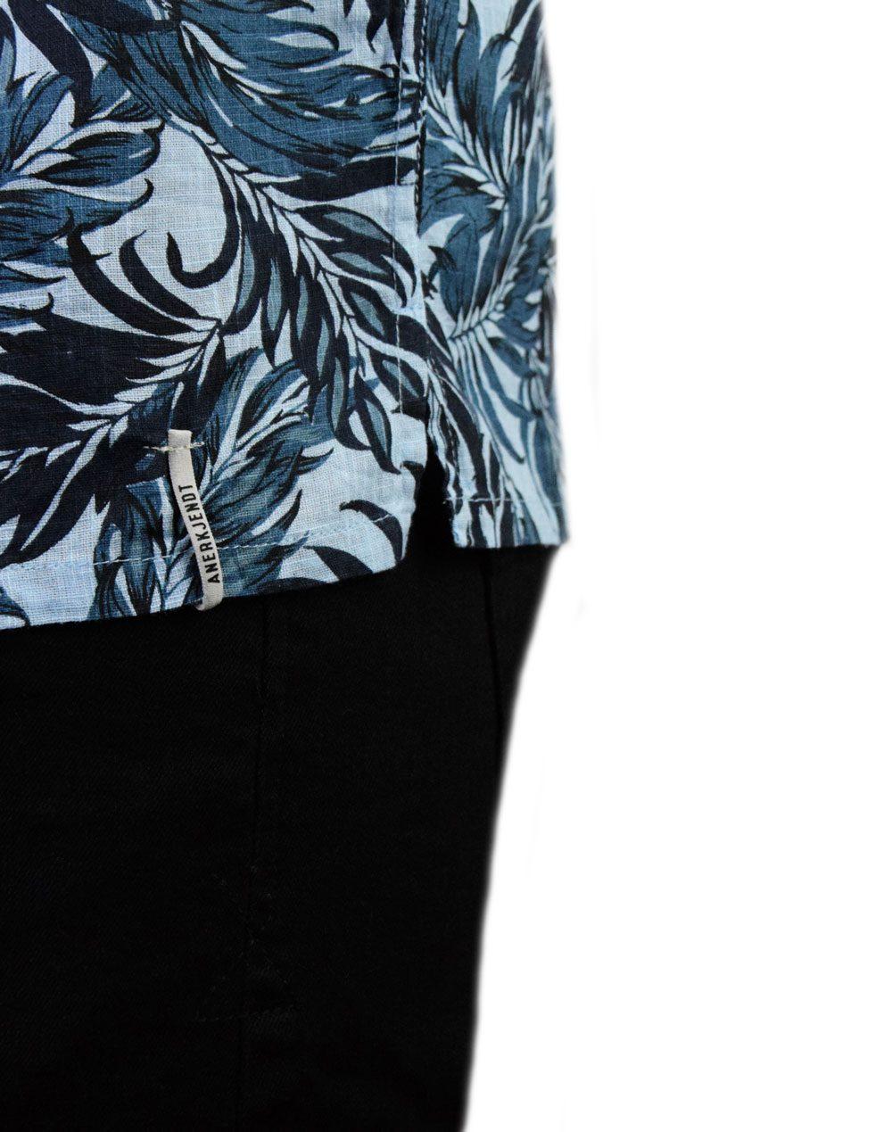 Anerkjendt Leo Shirt (9219046) Dress Blue