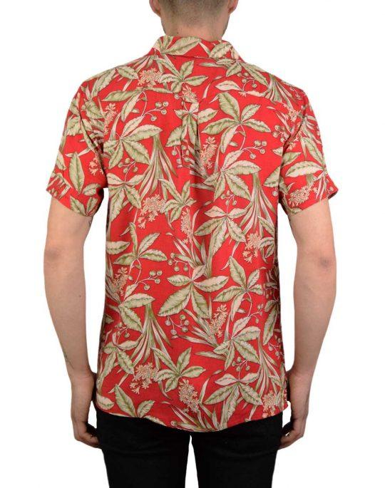 Anerkjendt Leo Shirt (9219063) Earth Red